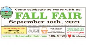 Live at Mt Lehman Fall Fair